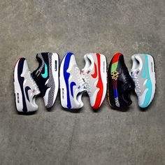 If you had to pick one? Let us know in the comment section what would be your favorite pair of Nike Air Max 1 of 2017 . Air Max 1, Nike Air Max, Sneakers For Sale, Sneakers Nike, Pick One, Kicks, Pairs, My Favorite Things, Stuff To Buy