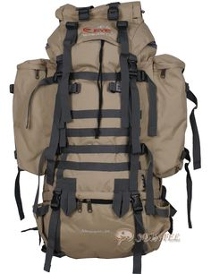 MILITARY SUVIVAL RUCKSACK BACKPACK CAMPING HIKING BAG E403 KHA |