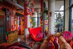 """Apartment Therapy Karen""""s Color Explosion 1"""