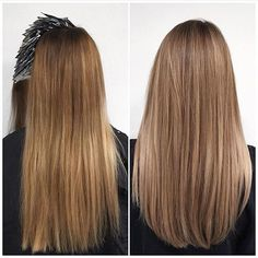 Natural beige blonde hair and soft layers by Sue @ Salon B, Amsterdam centrum…