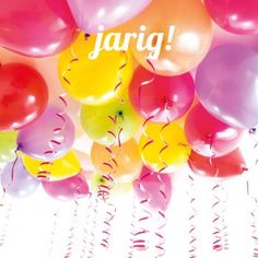 jarig ballonnen Pin by Tanya Hill on Happy birthday | Pinterest | Happy birthday jarig ballonnen