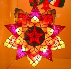 philippine parol capiz lanternspretty prettyi want one - Filipino Christmas Star