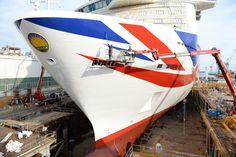 P&O Cruises Britannia with Livery