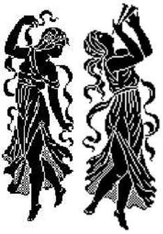 Maggie's Crochet · Filet Dancers Pattern