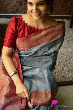 New Saree Blouse Designs, Blouse Designs High Neck, Cutwork Blouse Designs, Simple Blouse Designs, Stylish Blouse Design, Traditional Blouse Designs, Designer Blouse Patterns, Silk Sarees, Siri