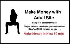 Make money from adult website Fail proof 2015 formula https://www.seoclerks