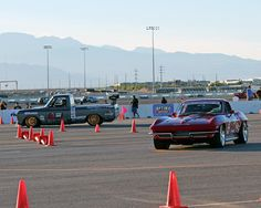 Jane Thurmond and Brandy Phillips had the opportunity to compete in the Optima Ultimate Street Car Invitational in 2014 and at one point even raced head to head against one another
