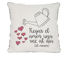 Cojín Regar el Amor - 45x45 cm