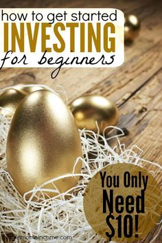 If you want to get started investing the process is so much easier than you think. Here are my two favorite ways to invest and you only need $10 to start!