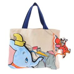 Dumbo Fashion Tote!   Lovely Mother's Day Gift Available From Disney Store Japan!!  トートバッグ キャンバス ダンボ