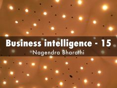 """Business intelligence - 15"" - A Haiku Deck: Business poems by Nagendra Bharathi  #businessintelligence  http://www.businesspoemsbynagendra.com"