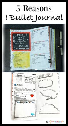 Original pinner: 5 reasons I bullet journal (can you relate to #3?)  bujo | bullet journaling | bullet journal layout