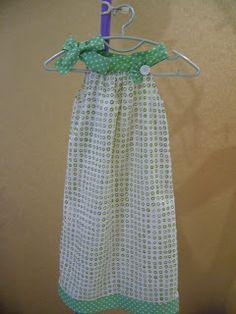sewing pillowcase dress ideas on Pinterest Pillowcase Dresses, Pillow Case Dresses and Ruffle Top