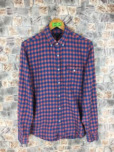 Excited to share the latest addition to my #etsy shop: Flannel Slim Fit Shirt Men/Women Medium Plaid Checkered Gingham Indie Boho Grunge Buttondown Distressed Flannel Shirt Size M #womenflannelshirt #weddingflannel #90sgrungeflannel #vintageflannel #slimfitflannel #distressedflannel #menflannelshirt #casualflannelmen #indiebohoflannel