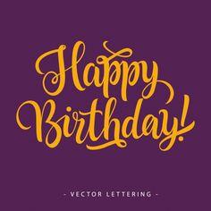 Birthday background design Free Vector