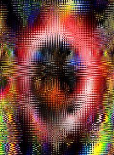 'Abstrakt 63' von Walter Zettl bei artflakes.com als Poster oder Kunstdruck $22.17