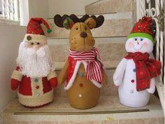 Easy Christmas Ornaments, Christmas Gift Decorations, Christmas Fabric, Felt Christmas, Christmas Projects, Simple Christmas, Holiday Decor, Christmas Lights, Merry Christmas