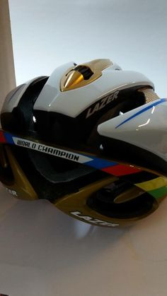 Custom painted #lazersport helmet for the Jr World Champions UCI racing in Richmond 2015