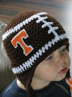 CUSTOMIZABLE Tennessee Vols team spirit crochet by NoleyPoley, $24.00