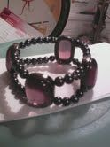 One of my hand made bracelets.  CJ Designs.