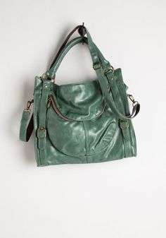 Searching for Sea Glass Bag - Green, Gold, Solid, Buckles, Exposed zipper, Pockets, Casual, Work, Faux Leather, Spring, Best Seller, Gals, Fall, Top Rated