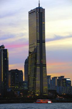 Yeouido at Sunset - Seoul, South Korea