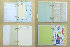 So cute, oh! My Travel Mini Album kit (on Etsy: www.etsy.com/....