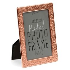 Genoa copper photo frame 4x6