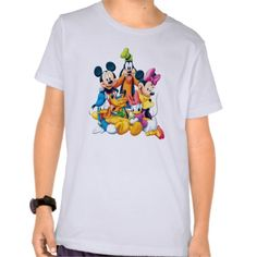 Mickey Mouse Friends 6 T Shirt