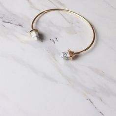BOGOTrendy faux marble cuff bracelet Super cute! Faux marble. Gold toned. Nickel and lead free. Great for layering. Will come in a velvet bag Jewelry Bracelets