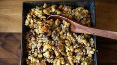 Corn Biscuit Stuffing How-To