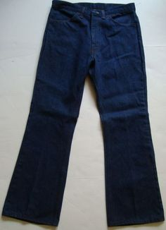 Mens NEW OLD STOCK vintage bell bottom jeans!
