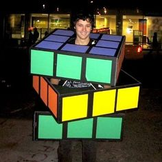 34 Halloween Costumes Made From A Cardboard Box