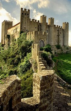Obidos. | Flickr - Photo Sharing! Medieval castle at Obidos, Portugal © by Howard Somerville ~ 5/16/2010
