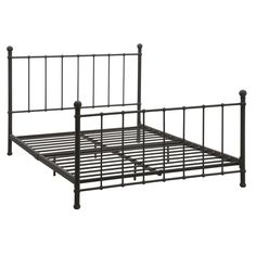 Queen size Heavy Duty Metal Platform Bed Frame - Supports up to ...