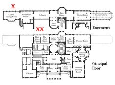 Posts about Georgian London written by Vic Architecture Drawings, Architecture Old, Dream House Plans, House Floor Plans, Regency House, Regency Era, Carlton House, Library Room, Throne Room