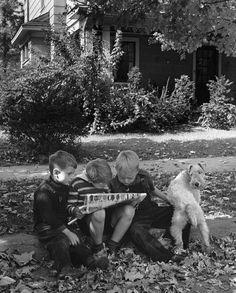 Hamilton Ohio USA 1943 Photo: Alfred Eisenstaedt ~B&W Photography~