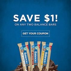 $1/2 Balance Bar Singles Coupon