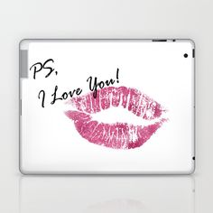 PS, I Love You Laptop & iPad Skin