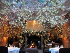 'The most romantic restaurant in London'. Clos Maggiore, Covent Garden. <3