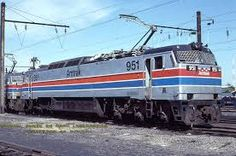 Amtrak GE E60CP.