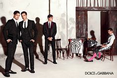 dolce&gabbana 2015 aw photo men - Google 検索