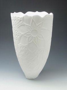 Tracey Mitchell Elliptical vase Vase, Ceramics, Home Decor, Ceramica, Pottery, Ceramic Art, Interior Design, Vases, Home Interior Design