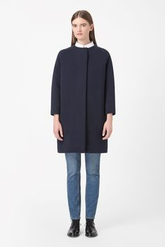 COS | Padded jersey coat