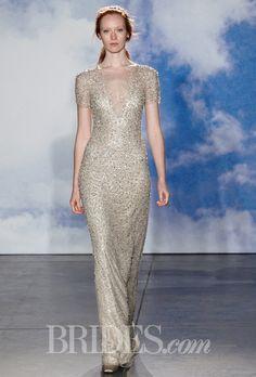 Brides.com: Trending Now: Sparkly Metallic Wedding Dresses