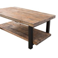 "Somers 42"" Wood/Metal Coffee Table"