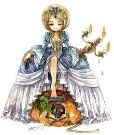 Fairy Tale Battle Royale   The Mary Sue  Artist イナ