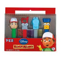 Pez Disney Handy Manny Candy And Dispensers Gift Set, 10 Pc