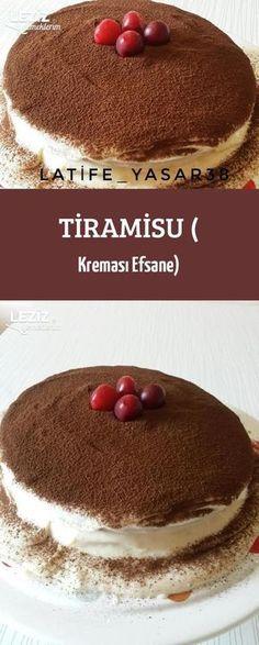 Tiramisu ( Kreması Efsane)