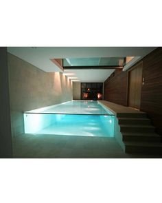 Swimming Pool With Glass End